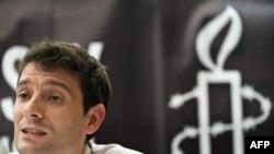 Прес-конференція представника «Міжнародної амністії» Марка Алісона щодо порушень прав людини у Китаї, Гонконг, 28 червня 2008 р.
