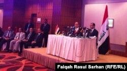 رئيس مجلس النواب سليم الجبوري في لقاء مع أبناء الجالية العراقية في الأردن