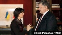 Президент України Петро Порошенко і президент Швейцарії Доріс Лойтхард
