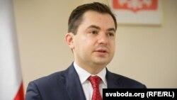 Надзвычайны іПаўнамоцны Пасол Рэспублікі Польшчы ўБеларусі Конрад Паўлік
