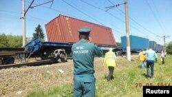 На месте аварии в Наро-Фоминском районе Подмосковья