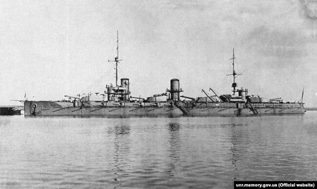 Линкор «Воля» Черноморского флота