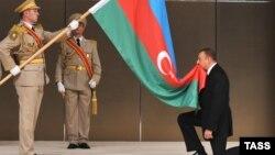 Arxiv foto: Prezident İlham Əliyevin andiçməsi, 2008-ci il