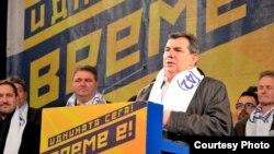 Зоран Дамјановски - Циц, градоначалник на Куманово. Локални избори 2013.