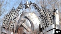 საბჭოთა კავშირის სახელმწიფო გერბი მოსკოვის თანამედროვე ისტორიის ძეგლთა პარკში