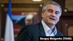Qırımnıñ rusiyeli ükümetiniñ başı Segey Aksönov