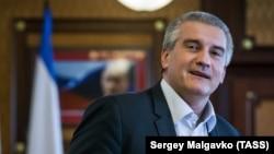 Российский глава Крыма Сергей Аксенов