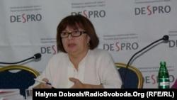 Керівник DESPRO в Україні Оксана Гарнець, Івано-Франківськ, 20 грудня 2011 року