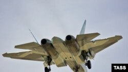 Russian new T-50 stealth fighter