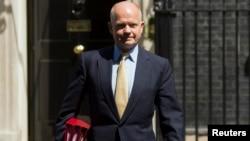 Британскиот секретар за надворешни работи Вилијам Хејг