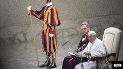 Vatikan - Papa Fransis, 08 fevral, 2017.