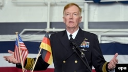 U.S. Admiral James Foggo (file photo)