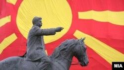 Од минатогодиншните подготовки за прославата на 20-годишнината од независност на Македонија.