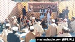 خیبر: پر باچا خان چوک د خاطر خان شینواري لپاره تعزیتي غونډه