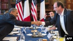 Barack Obama dhe Francois Hollande