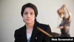 Ирандык укук коргоочу Насрин Сотуде.