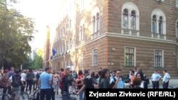 """Protesti u Sarajevu """"Izađite i dajte im otkaz"""", 1. juli 2013."""