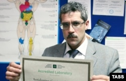 Grigory Rodchenkov, the former head of Russia's drug-testing lab