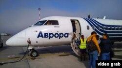 Самолет в аэропорту Чукотки