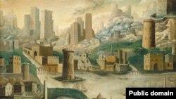 «Фантастычны горад» (невядомы амэрыканскі мастак, сярэдзіна ХІХ ст.)