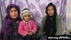 زنان یک خانواده افغان در ولایت هرات؛