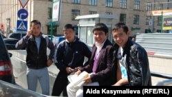 Кыргызы на улицах Москвы. Иллюстративное фото.