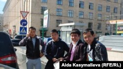 Kyrgyz migrants in Moscow
