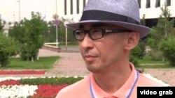 Қазақстанның Сириядағы бұрынғы консулы Бабыр Дәуренбек. Астана, 19 маусым 2015 жыл.