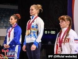 Лариса Соловйова - найсильніша жінка планети