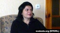 Natalya Radzina in Kobryn in February
