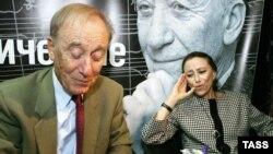 Родион Щедрин с женой Майей Плисецкой
