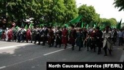 Акция черкесов (архивное фото)