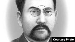 Ахмет Байтурсынов, ученый-лингвист, казахский политический деятель начала 20-го века.