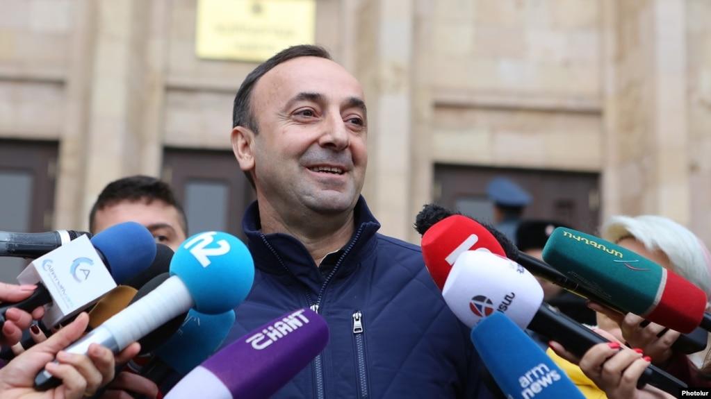 Грайр Товмасян попросил своих адвокатов подготовить иск против Никола Пашиняна