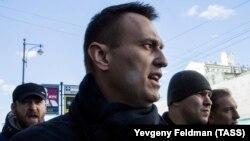 Алексей Навальный на антикоррупционном марше, 26 марта 2017 года
