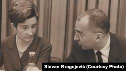 Latinka Perović i Marko Nikezić