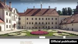 Палац XVII століття Тальхайм.Фото з сайту www.schlossthalheim.at