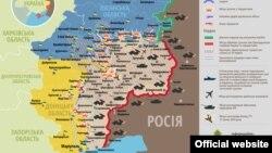 Ситуація в зоні бойових дій на Донбасі, 27 січня 2015 року