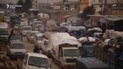 Sirijci napuštaju Idlib