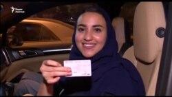 Право водить машину получили женщины в Саудовской Аравии