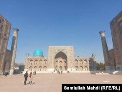 سمرقند، میدان ریگستان