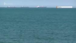 Скупчення кораблів у Керченській протоці (відео)