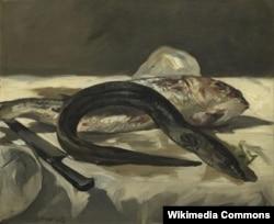 Эдуар Манэ. Кефаль і вугор. 1864