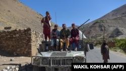 Талибани в провинция Панджшир - последната, която групировката успя да превземе в Афганистан.