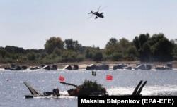 Китайские военные участвуют в 6-х международных армейских играх. Россия, Муром, сентябрь 2020 года