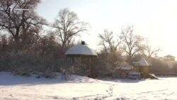 Кизил-Коба в закатных красках января (видео)