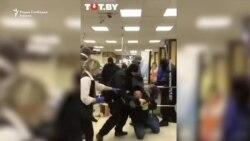 Флеш-гранати, тепања и апсења демонстранти во Белорусија