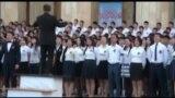 Ош: төрт миң студент хор ырдады
