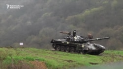 Armenian Forces Deployed In Martakert, Nagorno-Karabakh