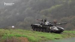 Armenian Forces Deployed In Martakert, Nagorno-Karabakh